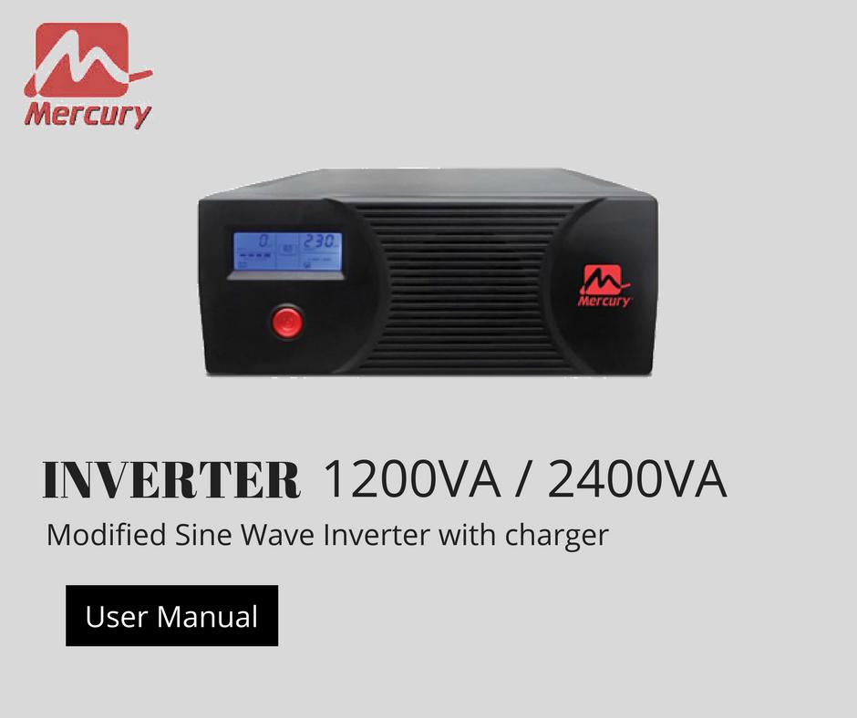 2.4KVA Inverter User Manual