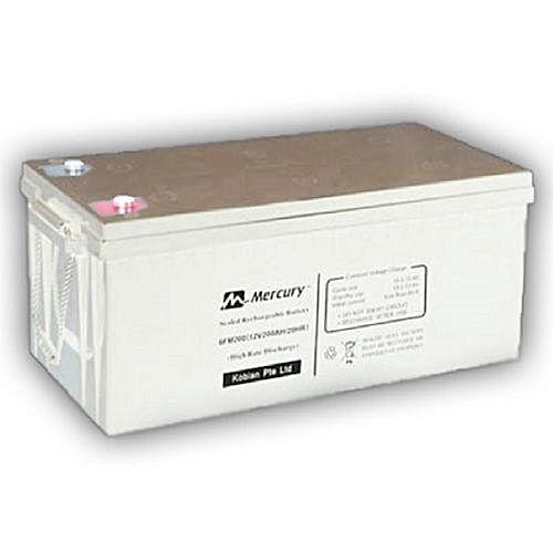 Mercury Gel Battery