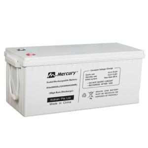 Mercury 2 4kva Inverter 2X 200AH Deep Cycle Batteries 4x 300