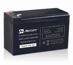 Mercury 7.5 UPS Battery
